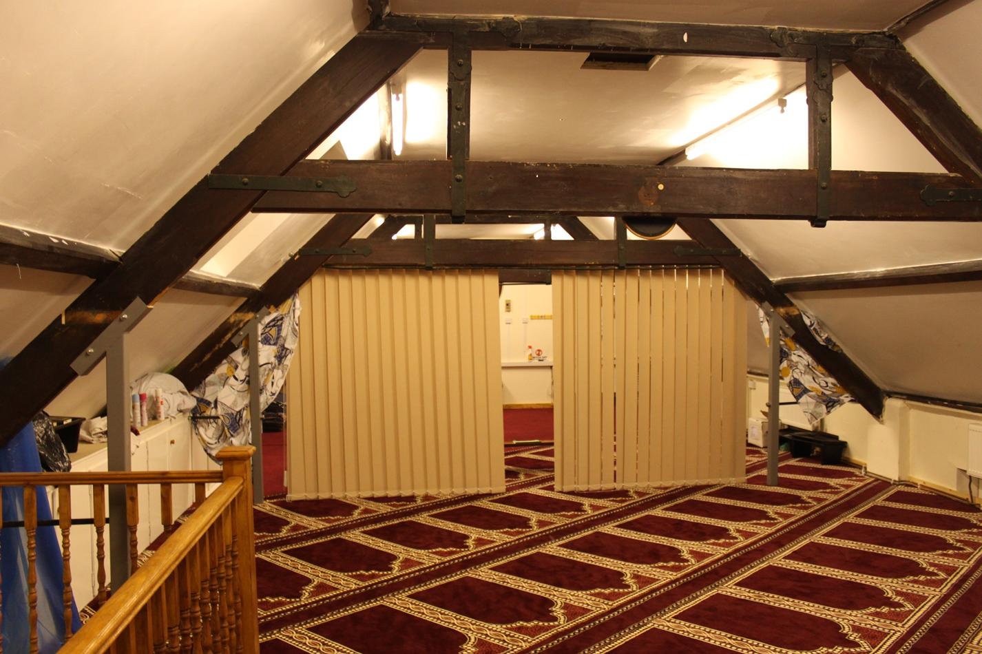 Women Section in Swindon masjid